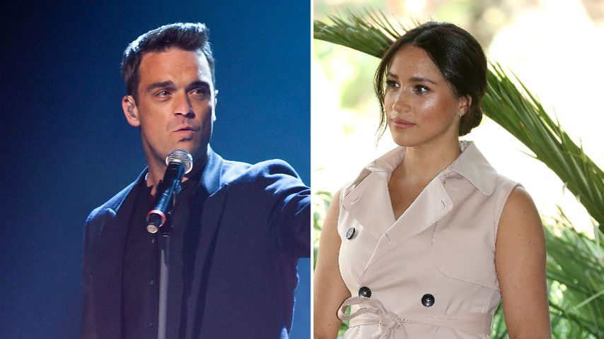 Wirbel nach Interviews: Robbie Williams verteidigt Meghan!