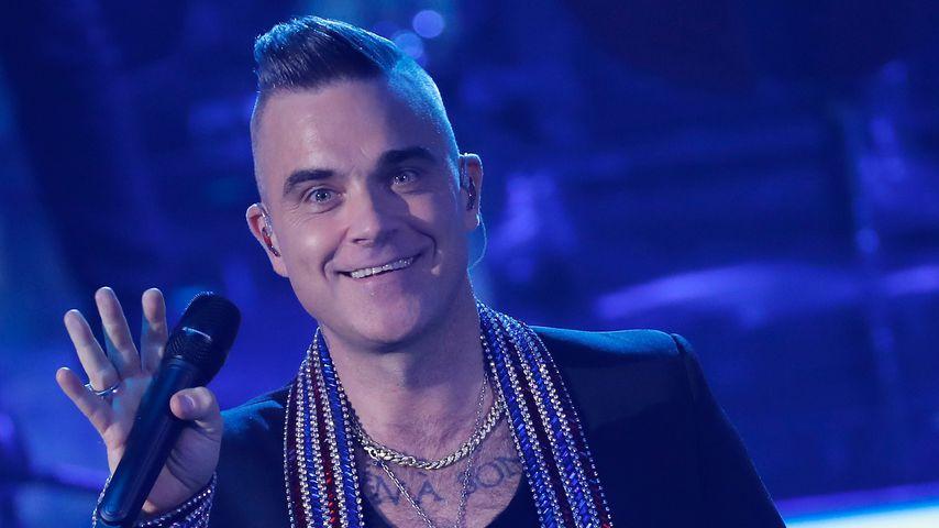 """Robbie Williams bei der """"Ein Herz für Kinder""""-Spendengala"""