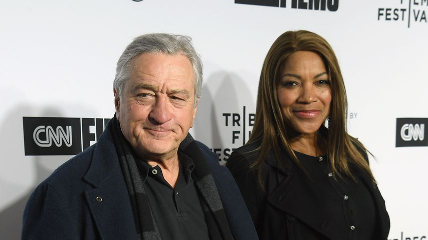 Robert De Niro und Grace Hightower auf dem Tribeca Film Festival 2018