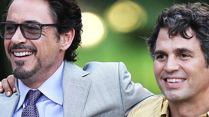 Robert Downey Junior und Mark Ruffalo