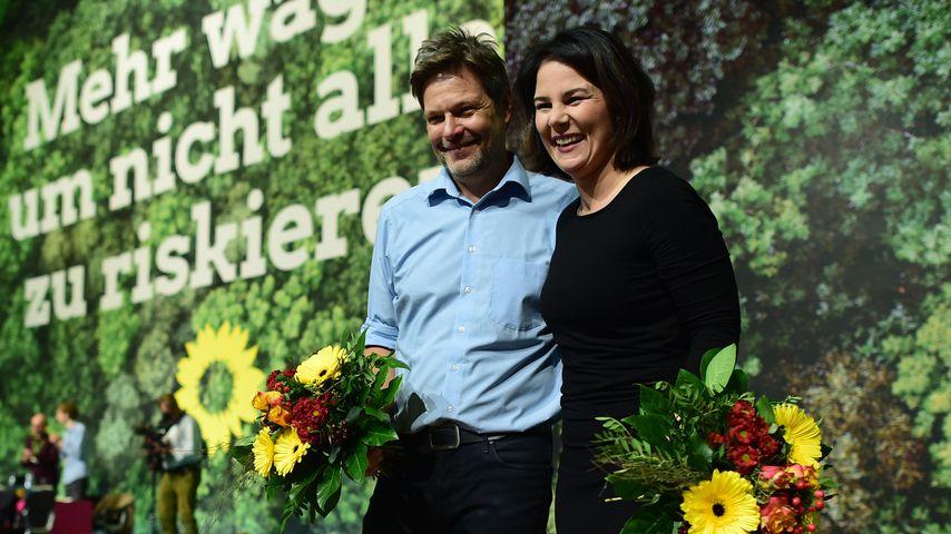 Robert Habeck und Annalena Baerbock in Bielefeld, 2019