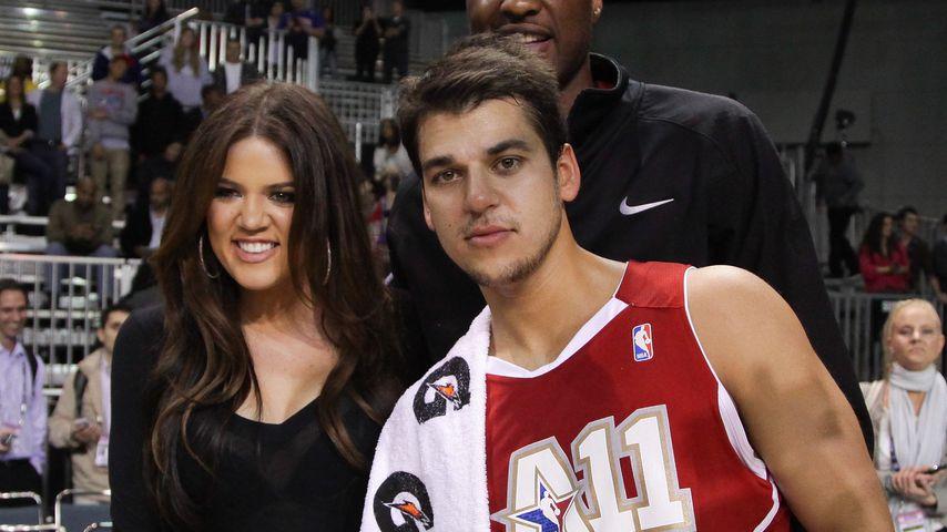 Große Geste: Rob Kardashian will Lamar Odom Niere spenden