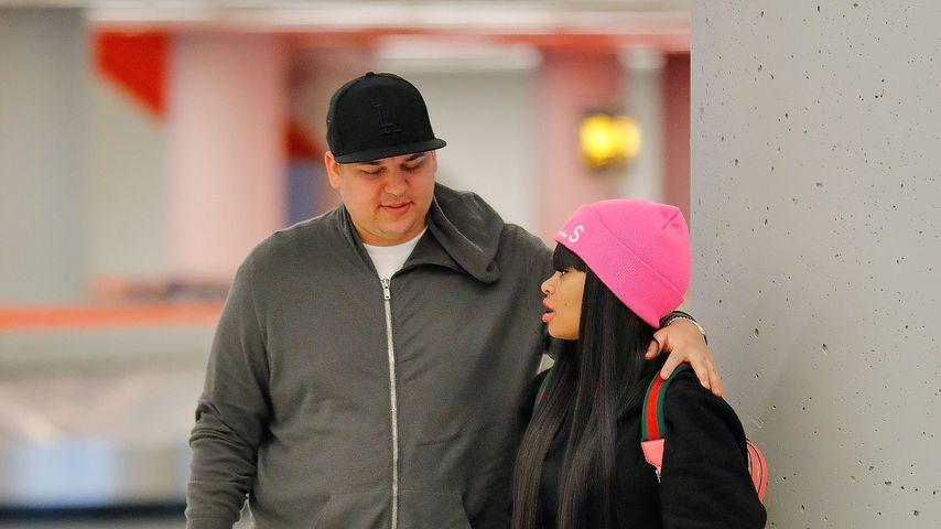 Robert Kardashian und Blac Chyna im Januar 2017