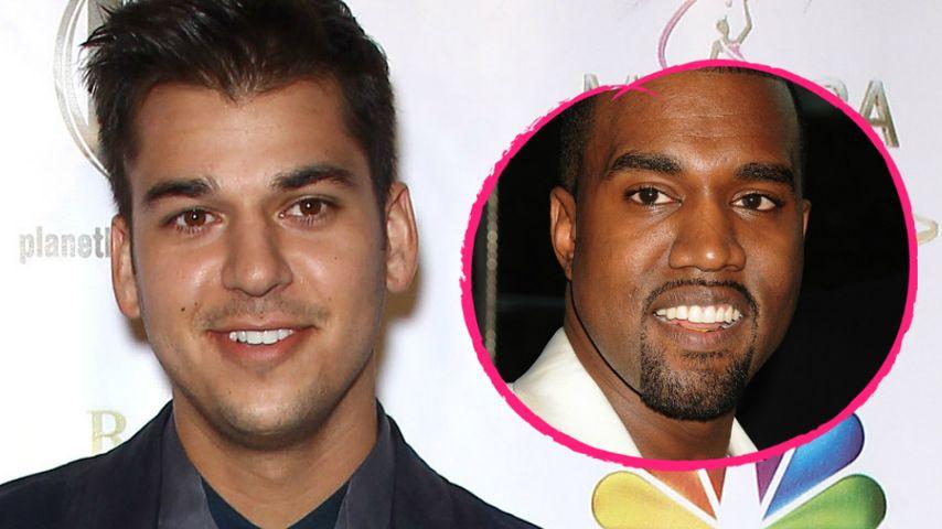 Rob Kardashians Diät-Dilemma: Jetzt gibt er Kanye die Schuld
