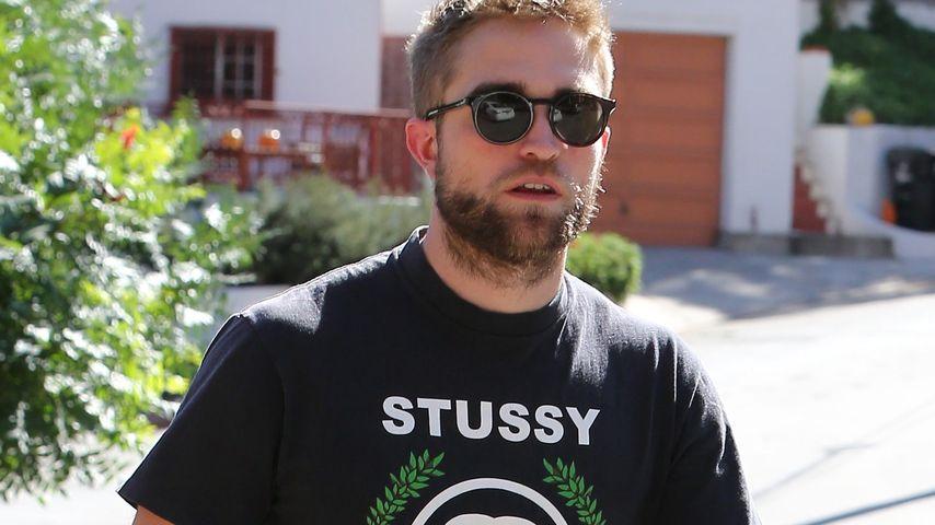Voll bärtig! Robert Pattinson im Zottel-Look