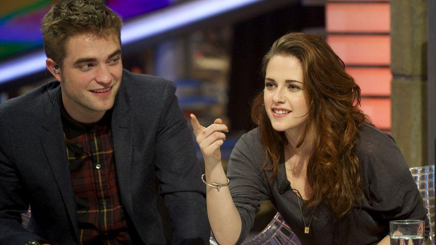 Robert Pattinson und Kristen Stewart in einer TV Show, 2012