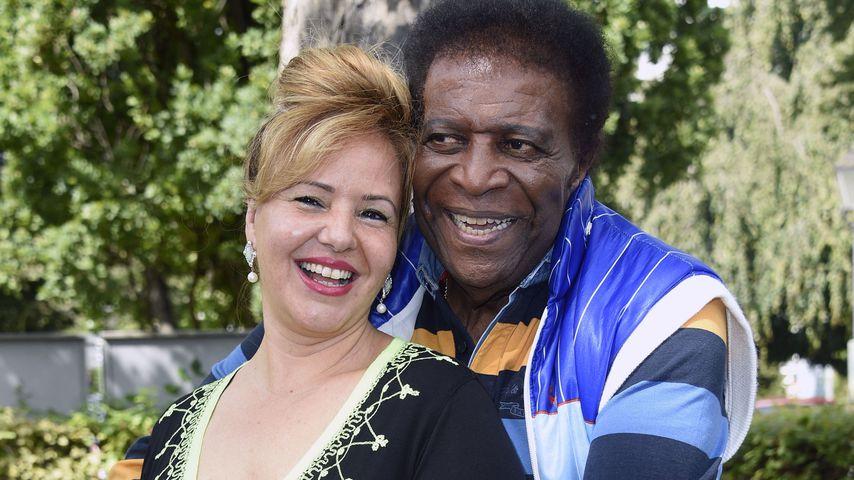 Süße Turtelfotos von Roberto Blanco und seiner Frau Luzandra