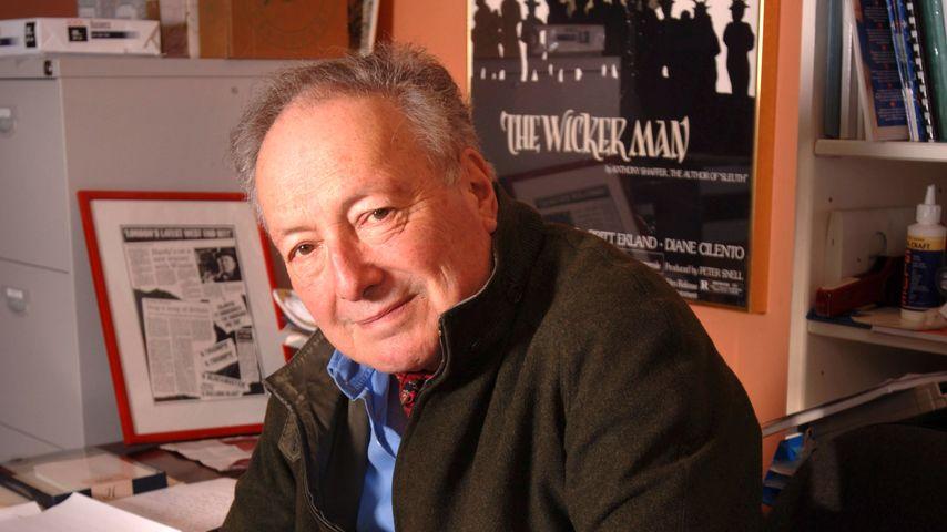 Robin Hardy in seinem Haus in England im Jahr 2006