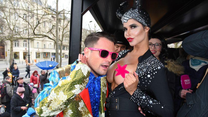 Sehr flirty: Was läuft denn bei Rocco Stark & Mica Schäfer?