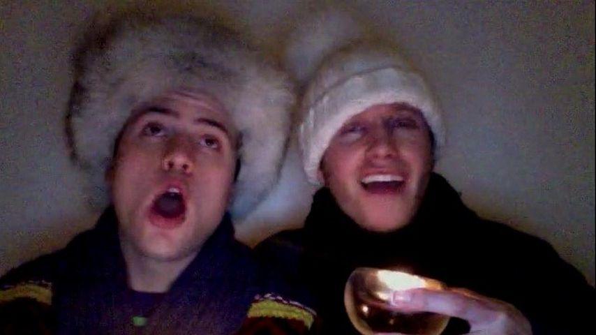 Witzig: Rocco Starks weihnachtlicher Video-Gruß