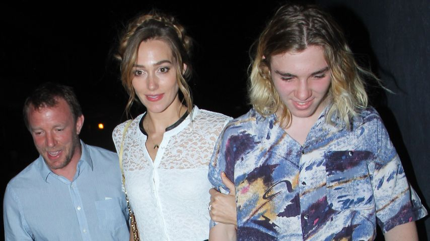 Rocco Ritchie, Guy Ritchie und Jacqui Ainsley