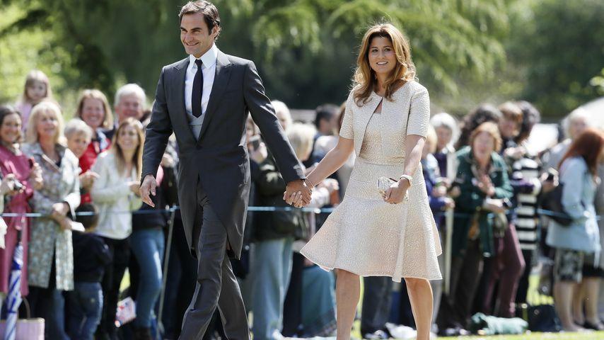 Roger und Mirka Federer