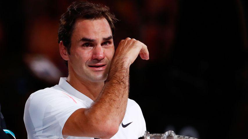 Zu Tränen gerührt: Roger Federer holt 20. Grand-Slam-Titel!