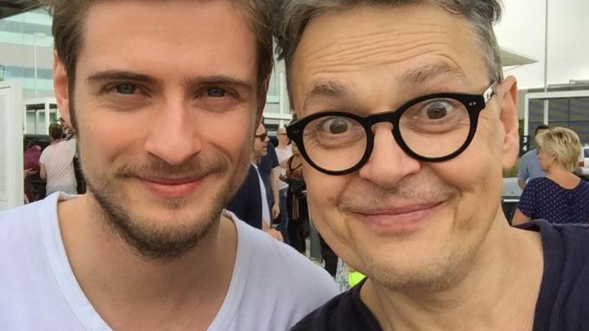 Jörn Schlönvoigt und Rolf Scheider