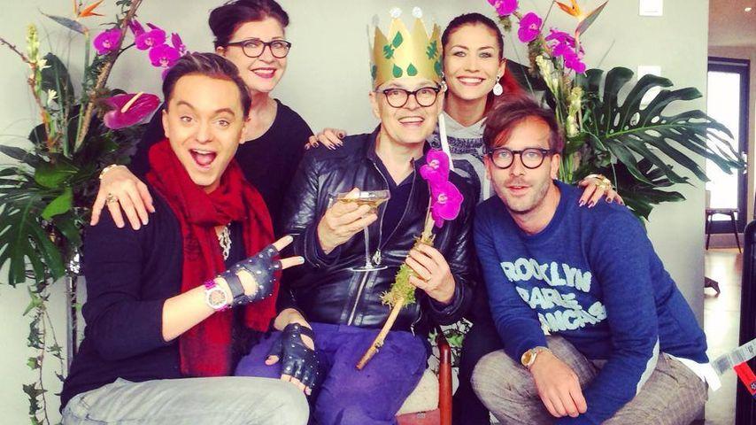 Triumphale Rückkehr: Dschungel-Promis feiern Rolfe