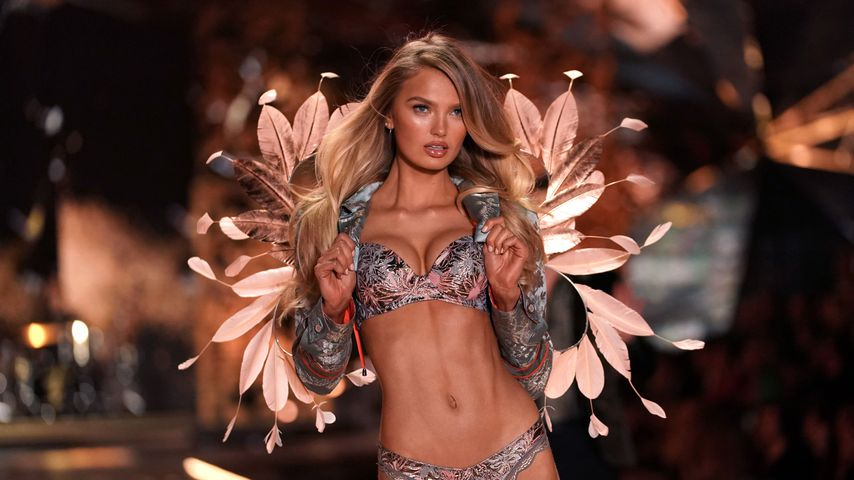 Romee Strijd bei der Victoria's Secret Fashion Show 2018