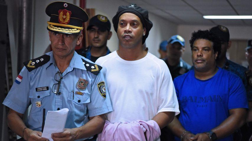 Ronaldinho in Asuncion, Paraguay