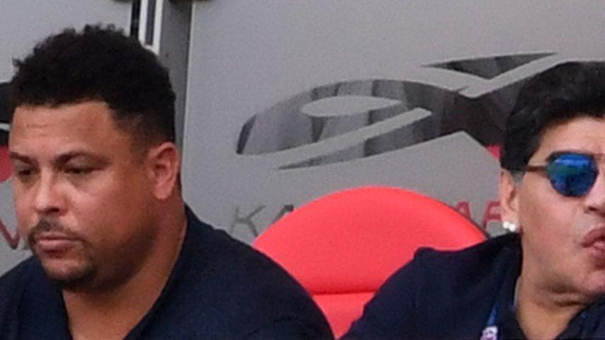 Ronaldo und Diego Maradona
