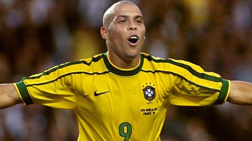 Ronaldo bei der Fußballweltmeisterschaft 1998