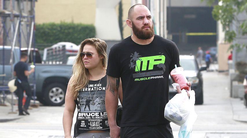 Ronda Rousey und ihr Freund Travis Browne