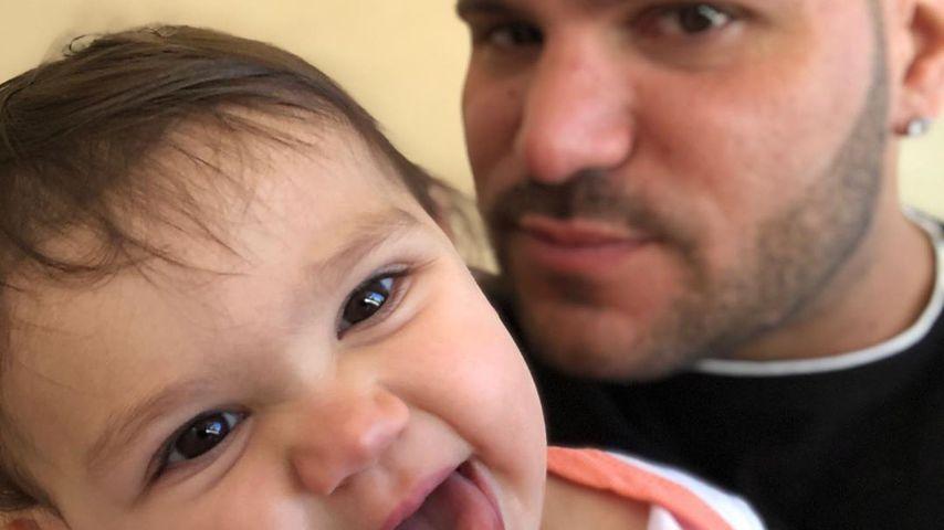 Ronnie Ortiz-Magro mit seiner Tochter Ariana