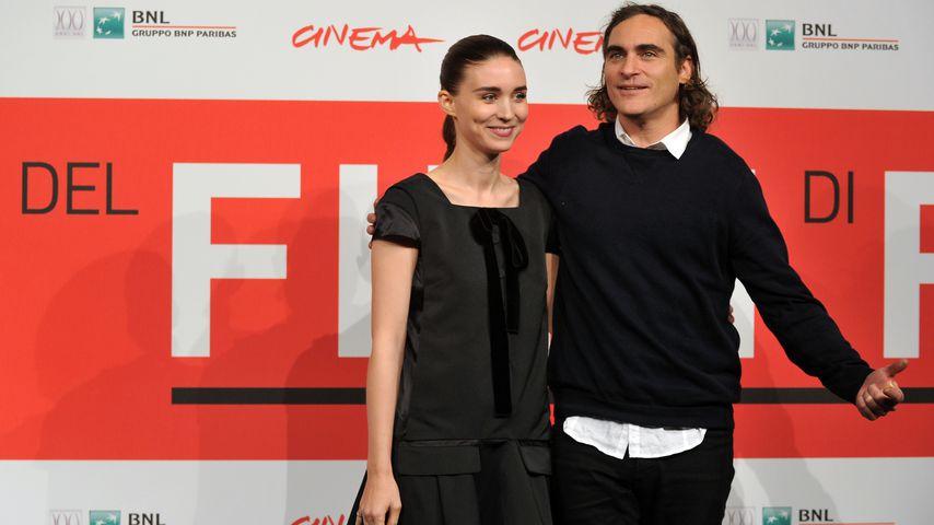 Rooney Mara und Joaquin Phoenix beim Rome International Film Festival 2013