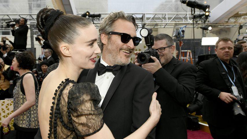 Rooney Mara und Joaquin Phoenix bei den Oscars 2020