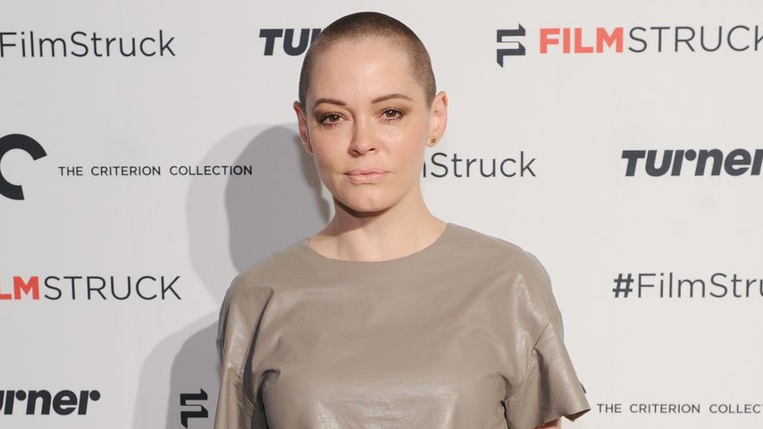 Rose McGowan in New York City