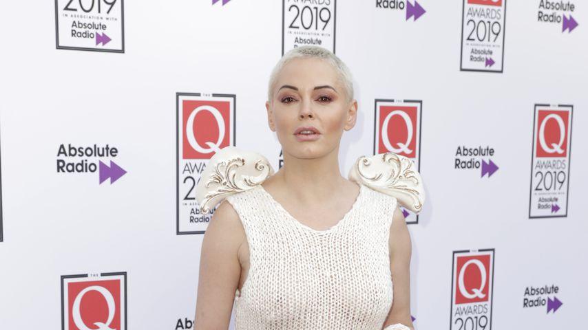 Rose McGowan im Oktober 2019 in London