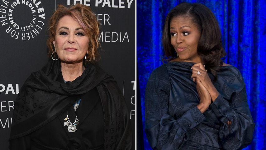 Roseanne Barr sicher: Michelle Obama schuld an Serien-Aus!