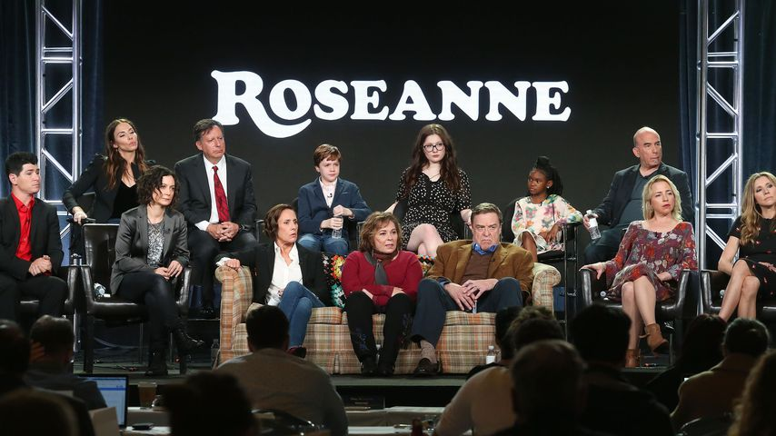 """Roseanne""-Cast bei der ABC-Pressetour"