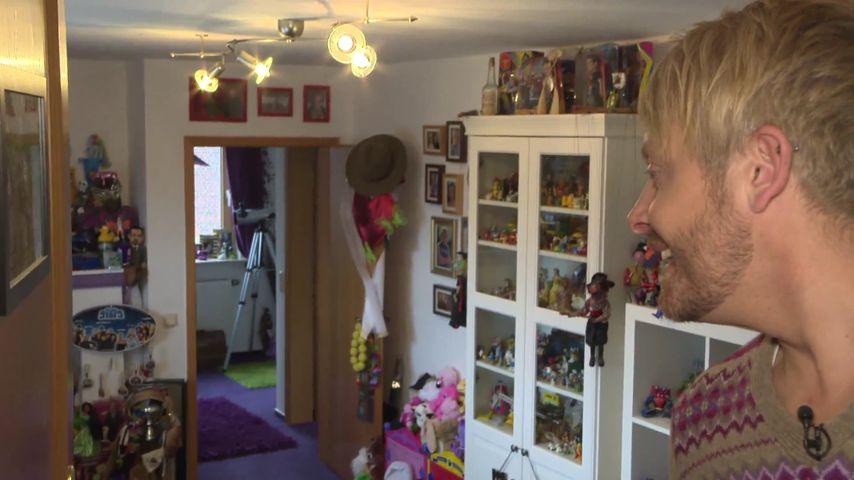 Heilige Hallen: Ross Antony hat einen Rossy-Raum