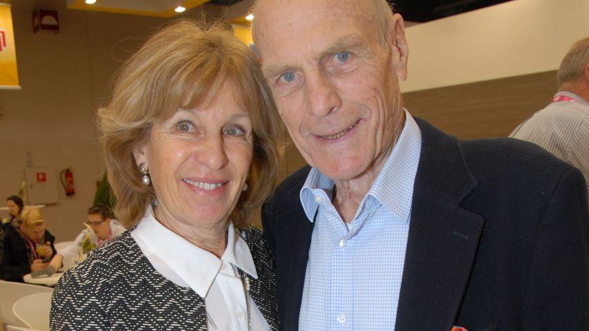 Rudi Altig gemeinsam mit seiner Frau Monique auf der ISM 2016