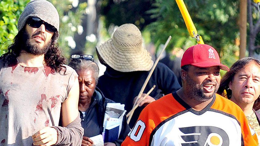 Guter Samariter: Russell Brand lädt Obdachlose ein