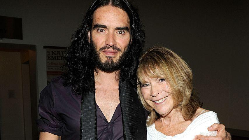 Russell Brand und seine Mutter Barbara