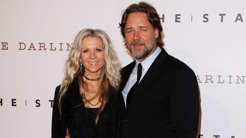 Russell Crowe und Danielle Spencer, 2011