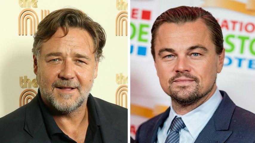 Russell Crowe kaufte DiCaprio im Suff Dinosaurier-Schädel ab