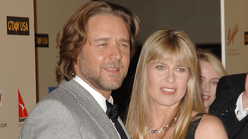 Russell Crowe und Terri Irwin bei einer Gala im Jahr 2007