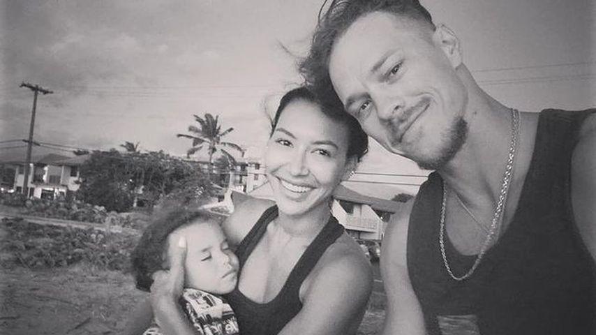 Ryan Dorsey mit Naya Rivera und ihrem Sohn Josey