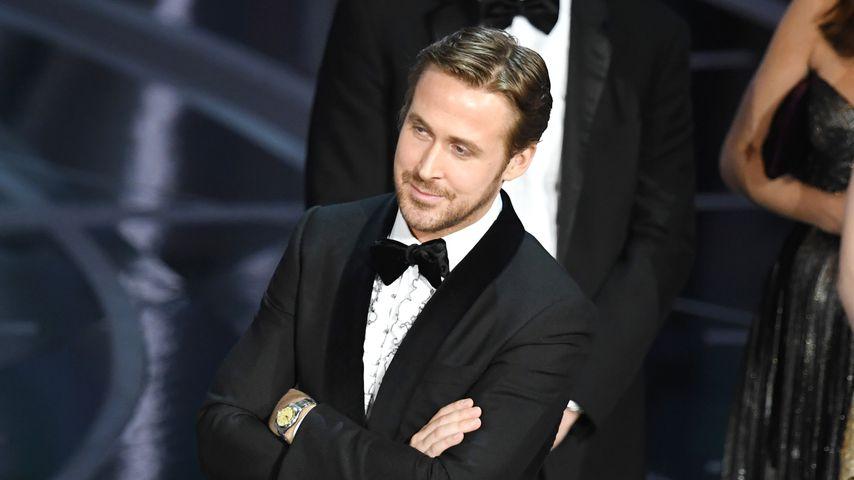 Kichern trotz Oscar-Fiasko? Ryan Gosling erklärt Lach-Flash!