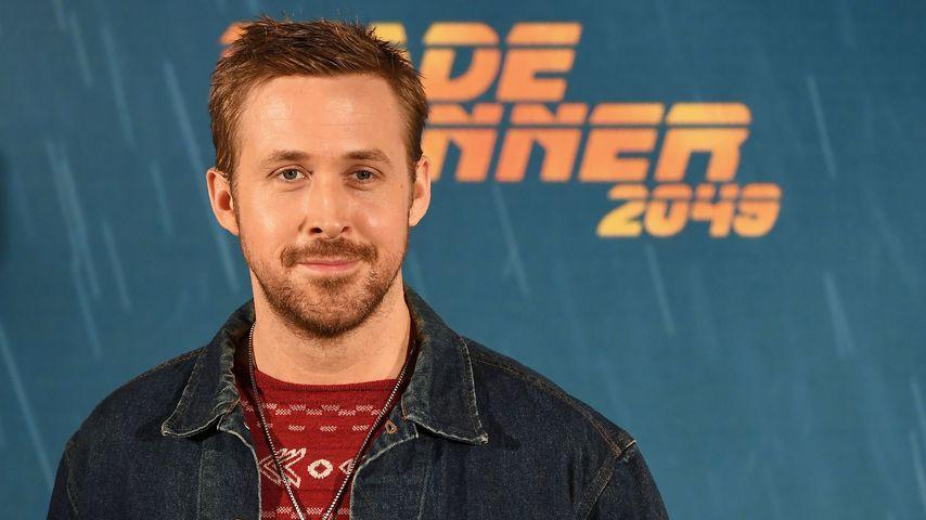 """Ryan Gosling bei einem Pressetermin des Films """"Blade Runner 2049"""" in Madrid"""