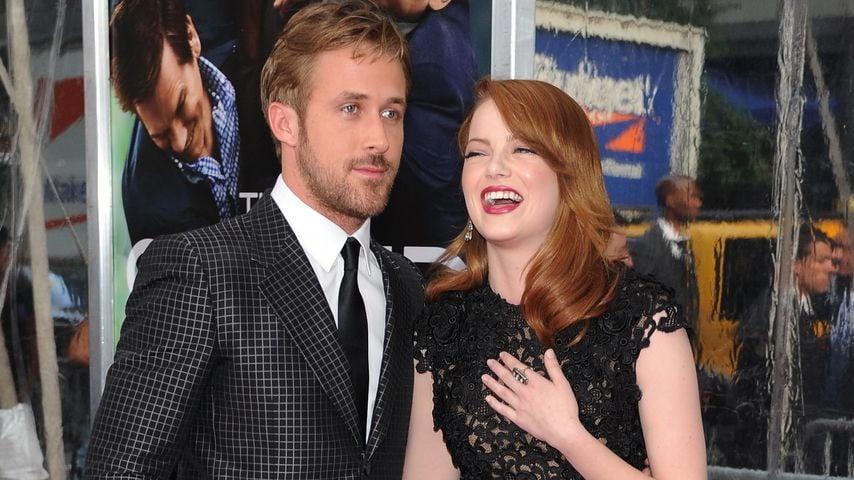Ryan Gosling und Filmpartnerin Emma Stone im Jahr 2011