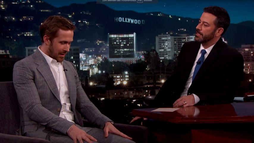 Ryan Gosling und Jimmy Kimmel