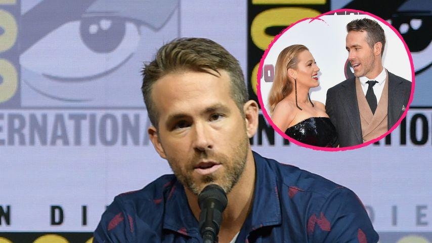 Scheidung?! So scherzt Ryan Reynolds über die Ehe mit Blake
