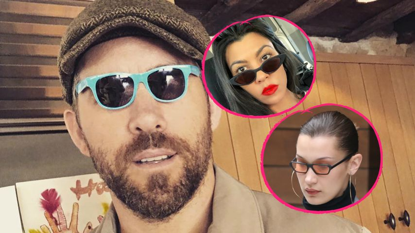 Ryan Reynolds: Diss gegen Sunglasses von Kourtney K. & Co.!