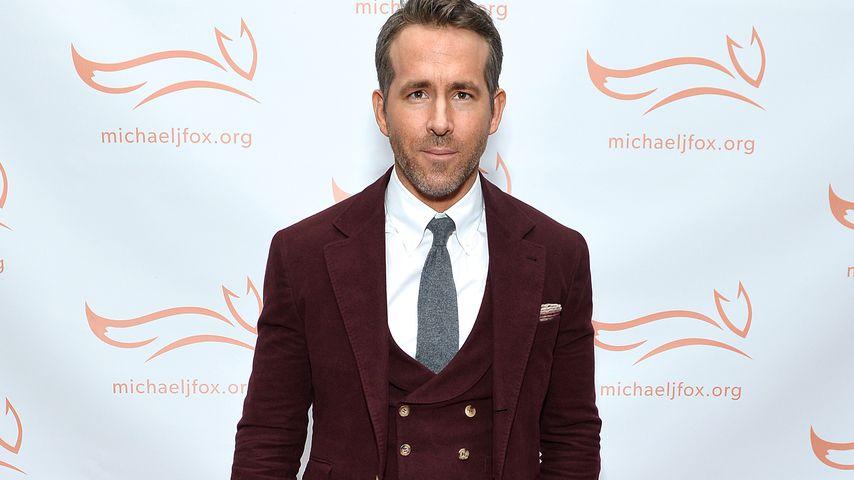 Ryan Reynolds auf einer Gala in NYC im November 2019
