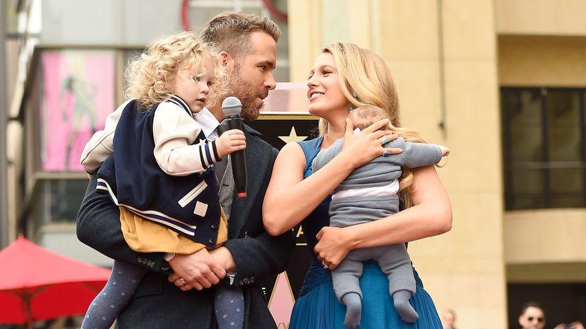 Ryan Reynolds: So süß schwärmt er von seinen beiden Töchtern