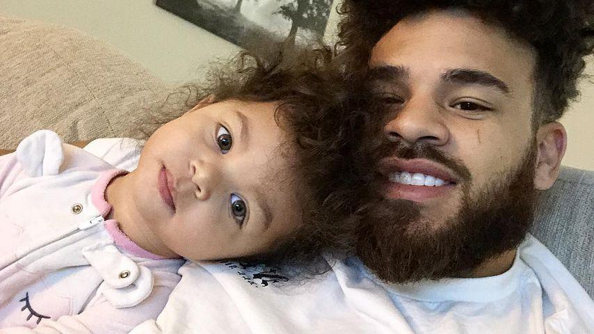 Ryder und ihr Papa Cory Wharton, März 2019