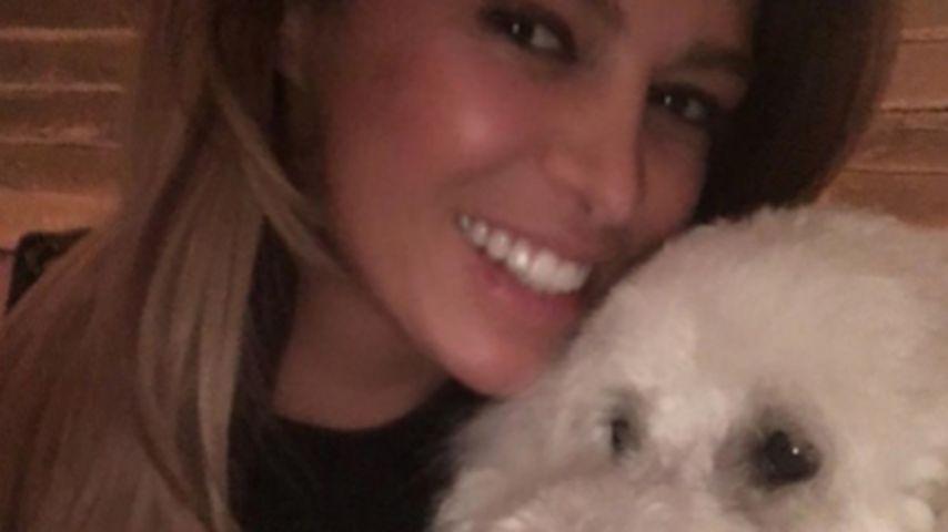 Süßes Geburtstags-Selfie mit Jacob: Sabia feiert mit Hund!