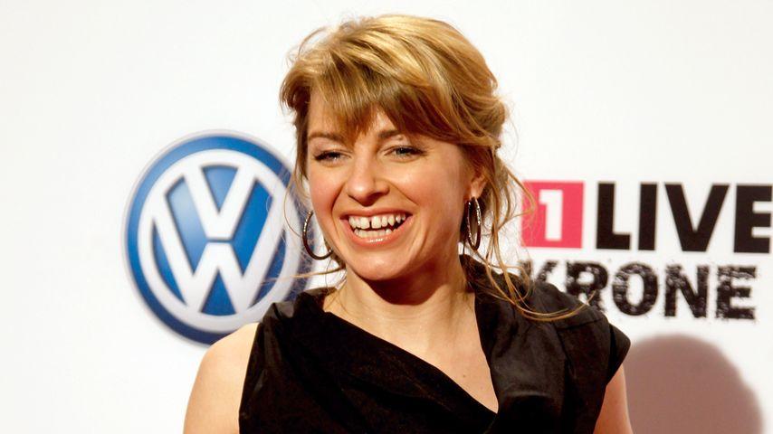 Moderatorin Sabine Heinrich: Schwanger - aber von wem?
